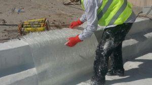Elyaf takviyeli çatı su yalıtımı