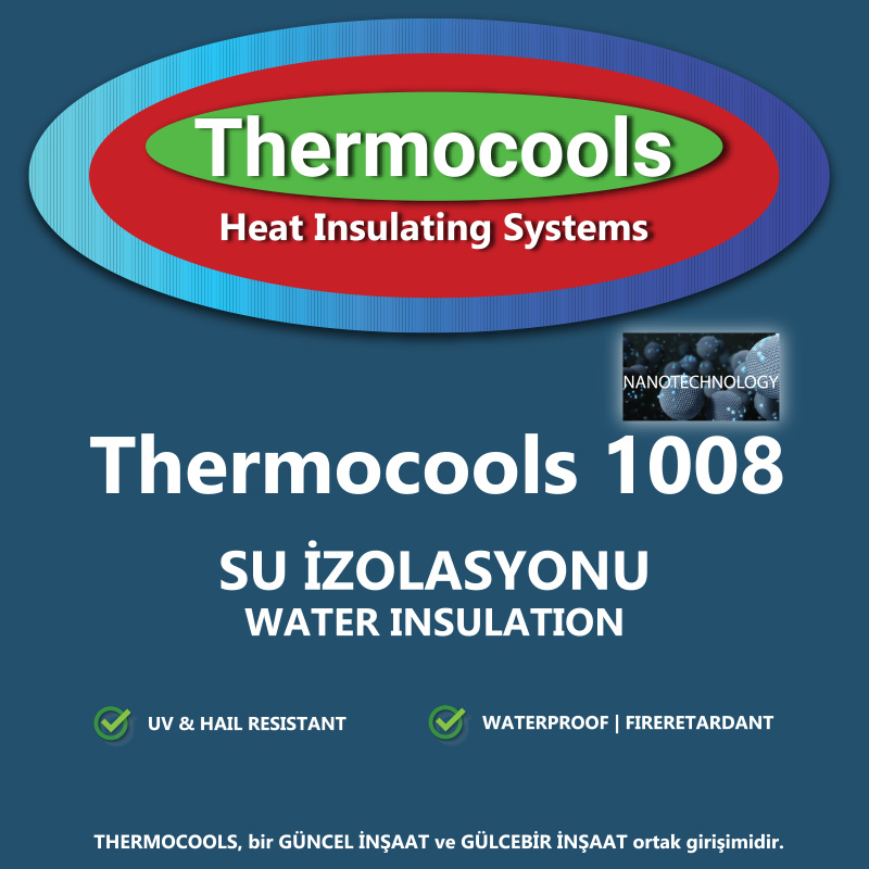 Thermocools 1008 Cap Su Kesici İzolasyon Malzemesi