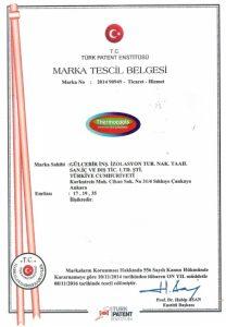 Thermocools Marka Tescil Belgesi