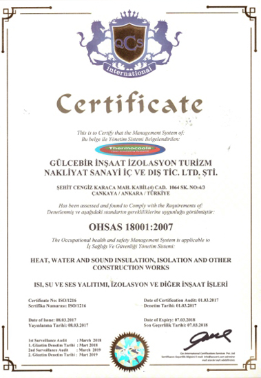 thermocools-ohsas18001-2007