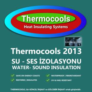 Thermocools 2013 Su ve Ses İzolasyonu