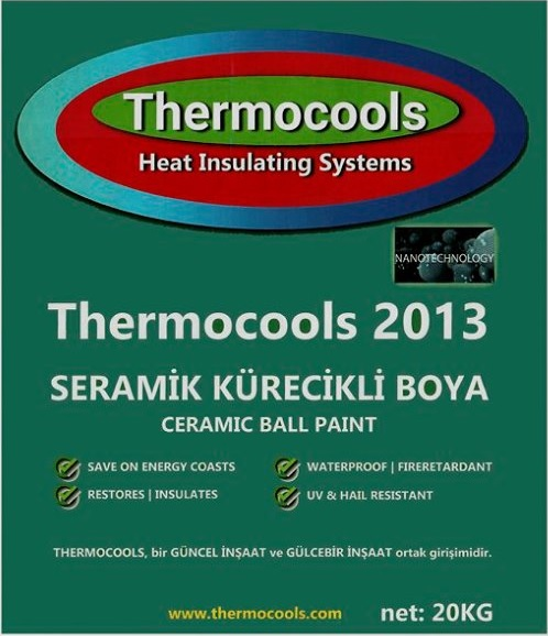 Thermocools 2013 Seramik Kürecikli Boya
